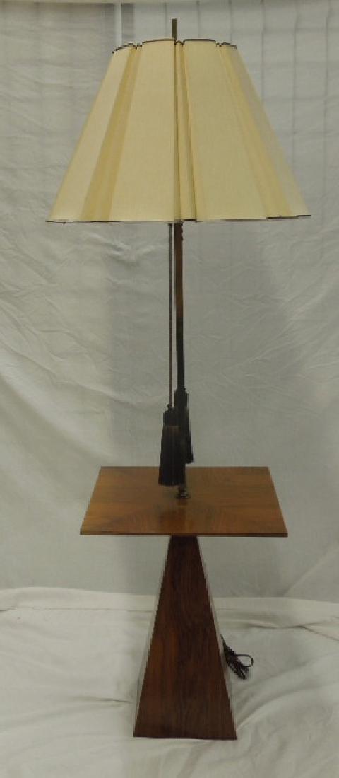 Mid Century Modern Shaft Table / Lamp