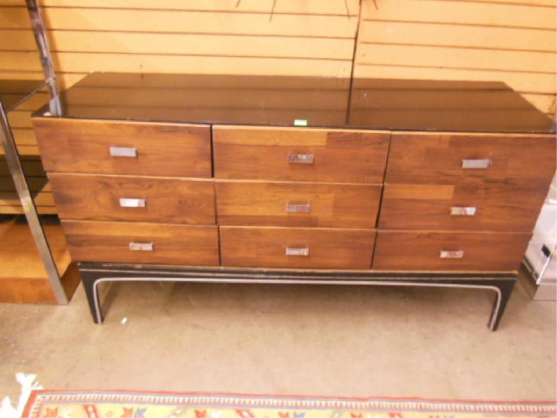 Mid Century Modern Triple Dresser