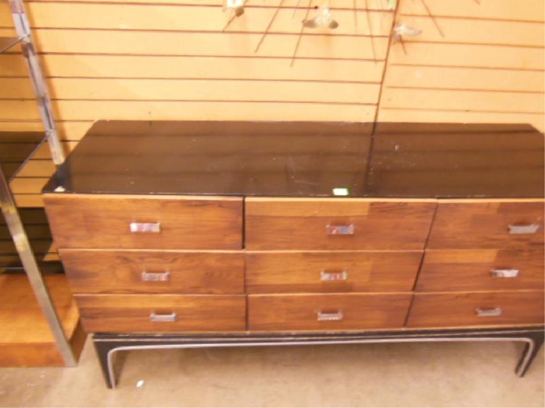 Mid Century Modern Triple Dresser - 4
