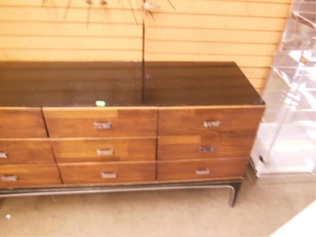 Mid Century Modern Triple Dresser - 5