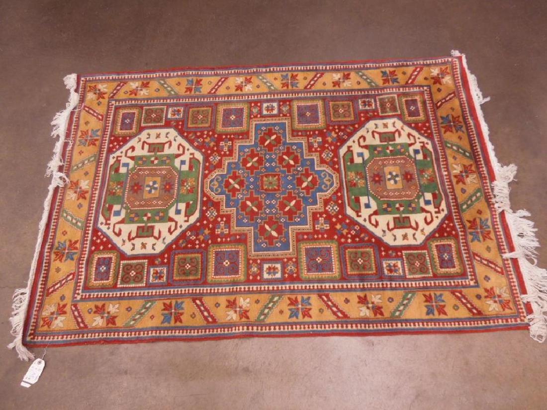 Antique Shirvan Area Carpet