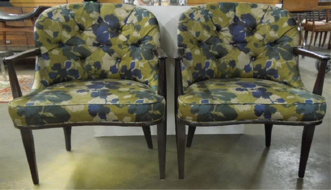 Pair of Mid Century Modern Arm Chairs