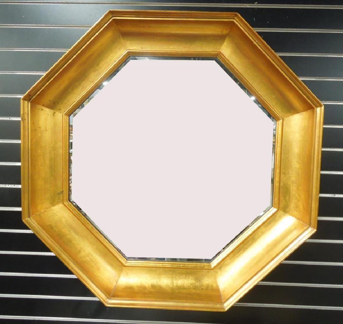 John Widdicomb Octagonal Wall Mirror