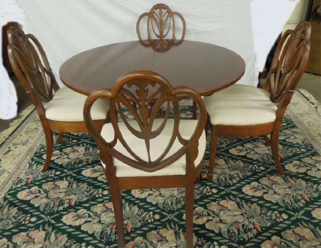 Federal Style 5 Pc Dining Room Set