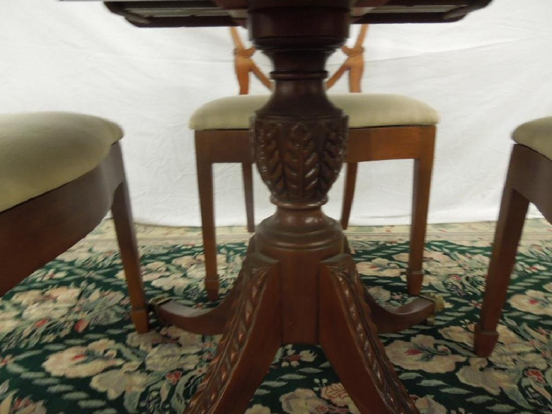 Federal Style 5 Pc Dining Room Set - 3
