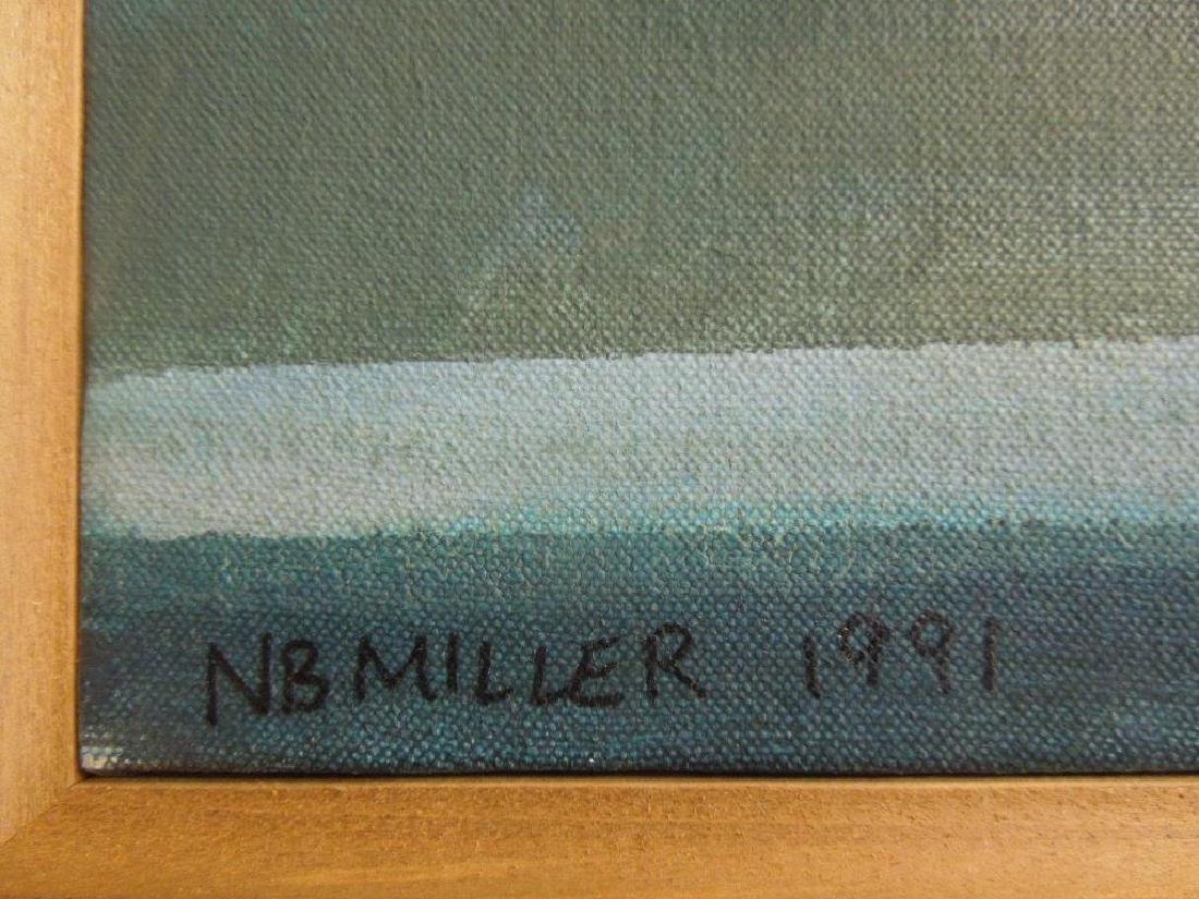 N.B. Miller, o/c, Woman at Open Door - 3