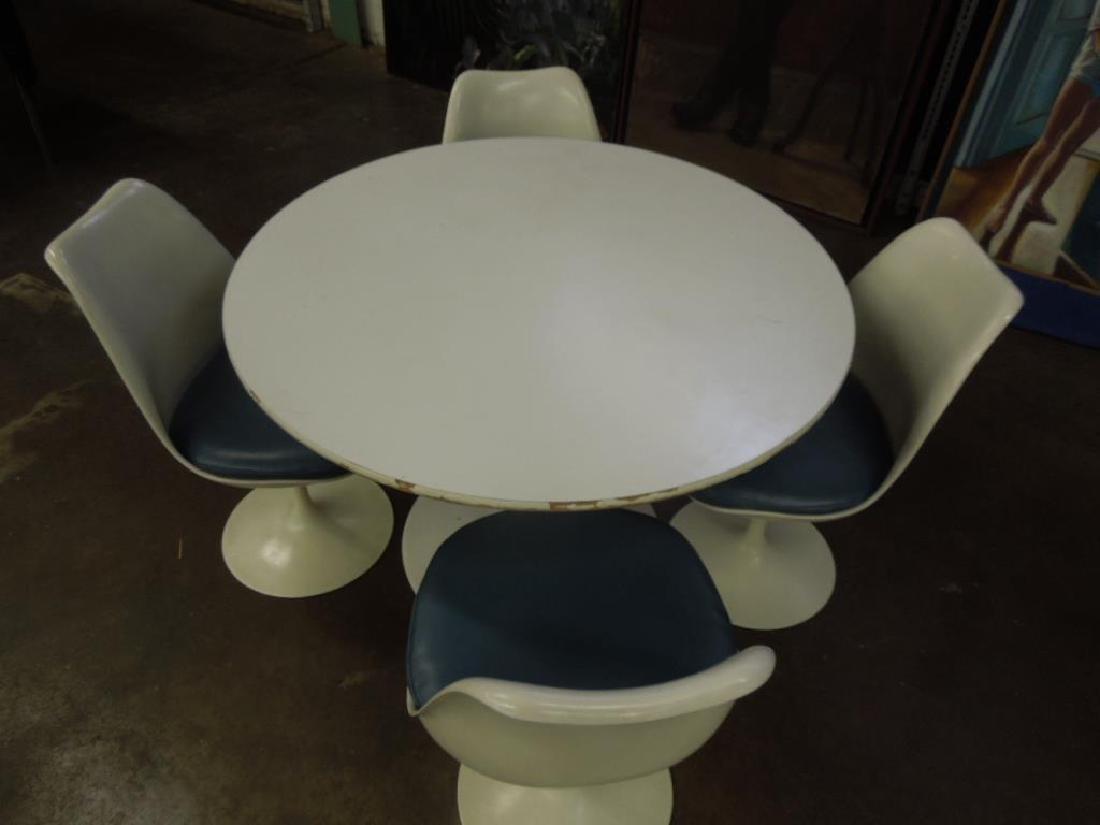 Saarinen-type Table & Chairs - 2
