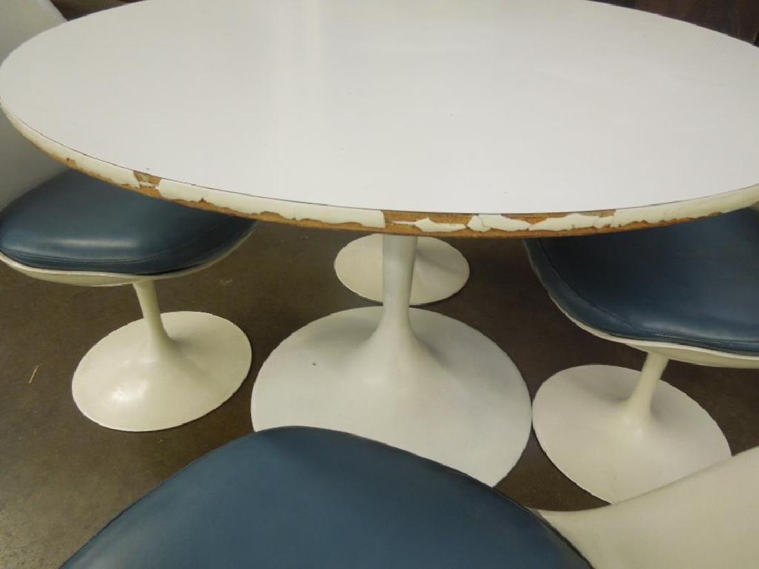 Saarinen-type Table & Chairs - 6