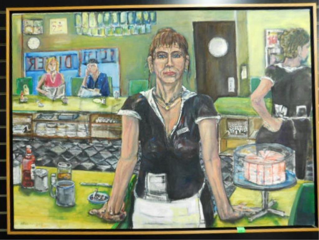 B[rad] Greenwood o/c, Cafe Scene