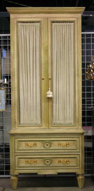 1001: Louis XVI Style Softwood Cabinet