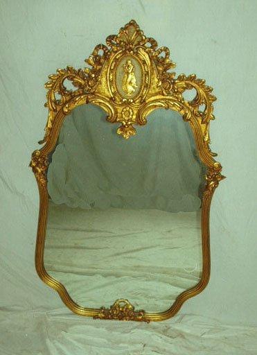 1005: Louis XV Style Mirror