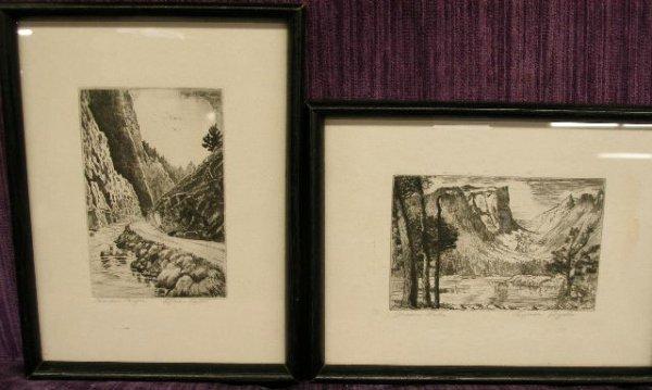 1010: [3] Lyman Byxbe etchings