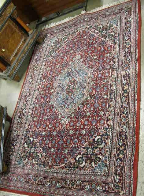 1018: Semi-Antique Persian Area Carpet