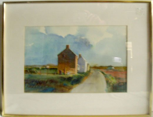 1023: John Lear [19]89 Watercolor
