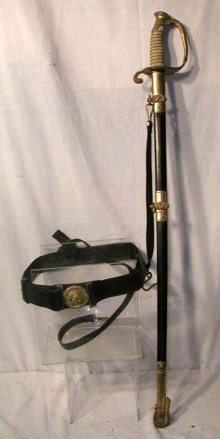 2007: U.S. Navy model 1852 sword