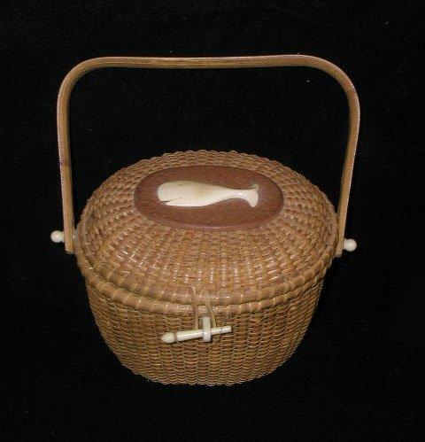 2012: Nantucket style purse basket
