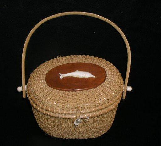 2013: Nantucket style purse basket