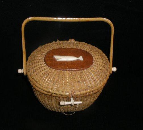 2014: Nantucket style purse basket