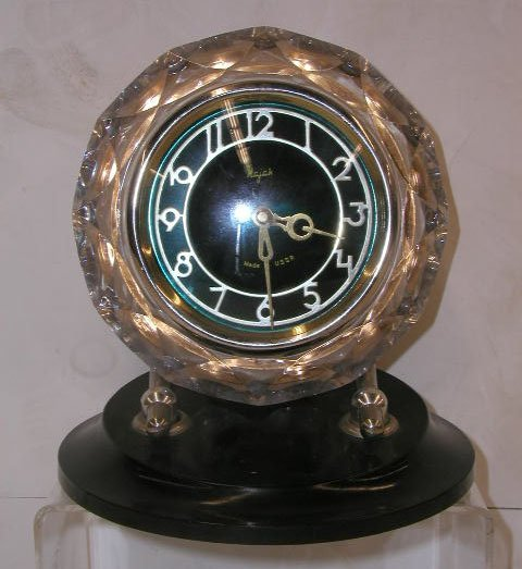 2017: 1950's Majak Russian desk clock