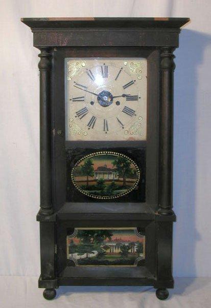 2018: C. 1845 Forrestville shelf clock