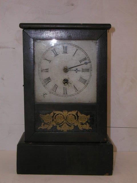 2019: C. 1850 E.N. Welch shelf clock