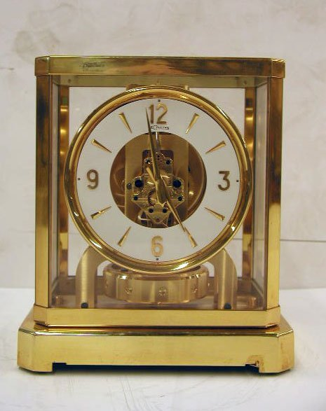 "2021: Le Coultre ""Atmos"" clock"