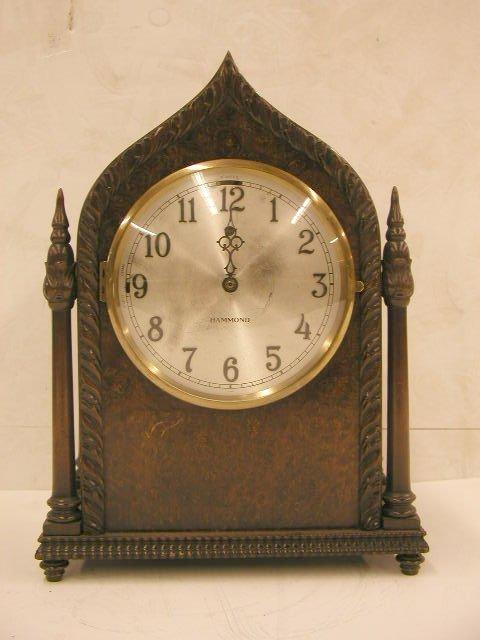 2022: Hammond cathedral shelf clock