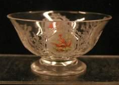 2067: Morgantown Glass Co. sherbet dishes