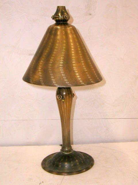 2364: Tiffany Arabian boudoir lamp