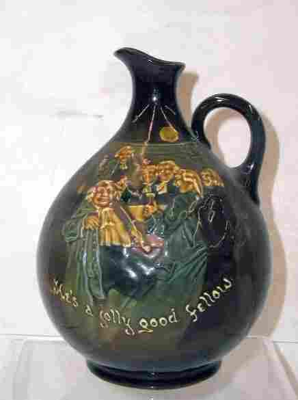 Royal Doulton Kingsware whiskey jug