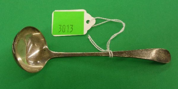 3013: Tiffany & Co. sterling silver sauce ladle
