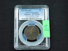 1793 Flowing Hair Large Cent