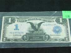 1 Large Size Silver Certificate 1899