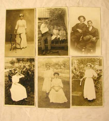 4004: Early 20th C. Real Photo Postcards