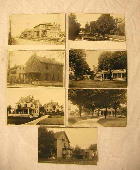 4005: Early 20th C. Real Photo Postcards