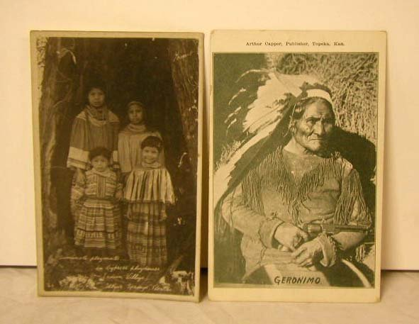 4006: Early 20th C. Native American Postcards