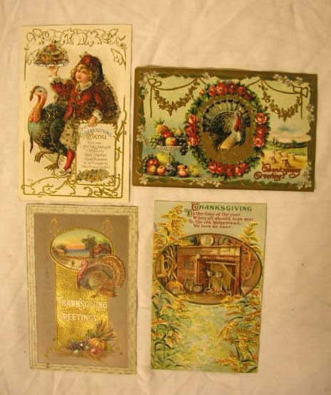 4008: Early 20th C. Holiday Theme Postcards