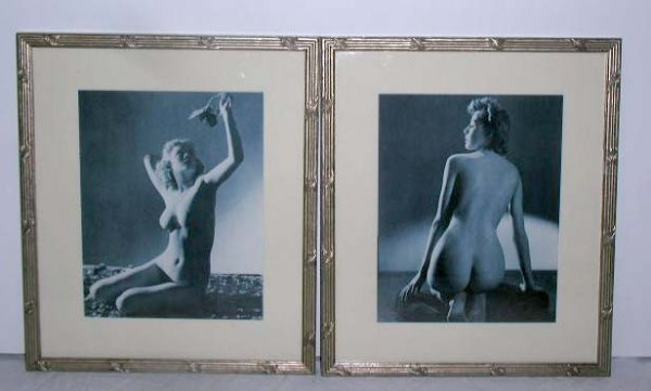 4040: 1940's B&W Nude Female Art Photos
