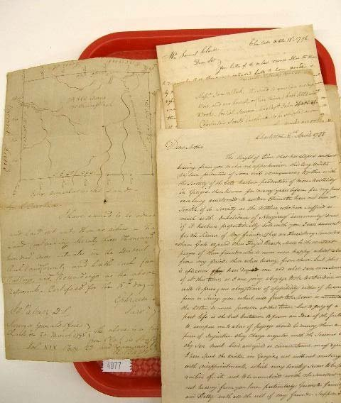 4077: 18th C. Clarke Family Correspondence