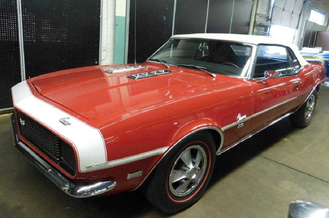 1968 Chevrolet Camaro Rs Ss Convertible Chevy