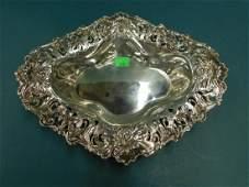 Large Art Nouveau Sterling Centerpiece Bowl