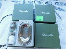 Christofle Sterling Silver Individual Shakers