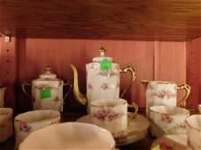 Antique Limoges Porcelain Coffee Set
