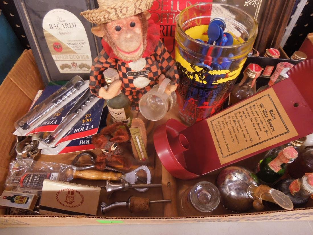 Large Lot liquor Advertising Collectibles - 2