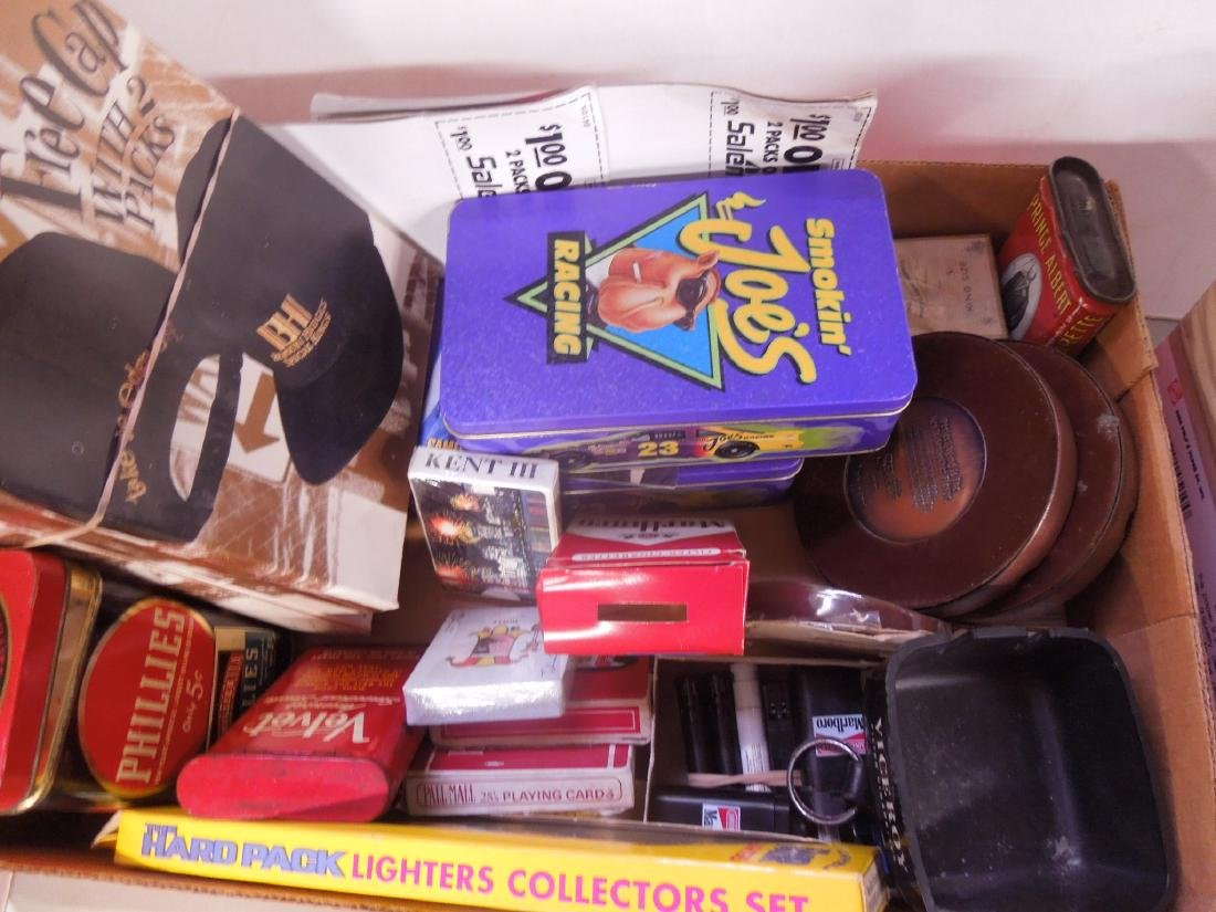 Large Lot of Tobacco Advertising Collectibles - 2