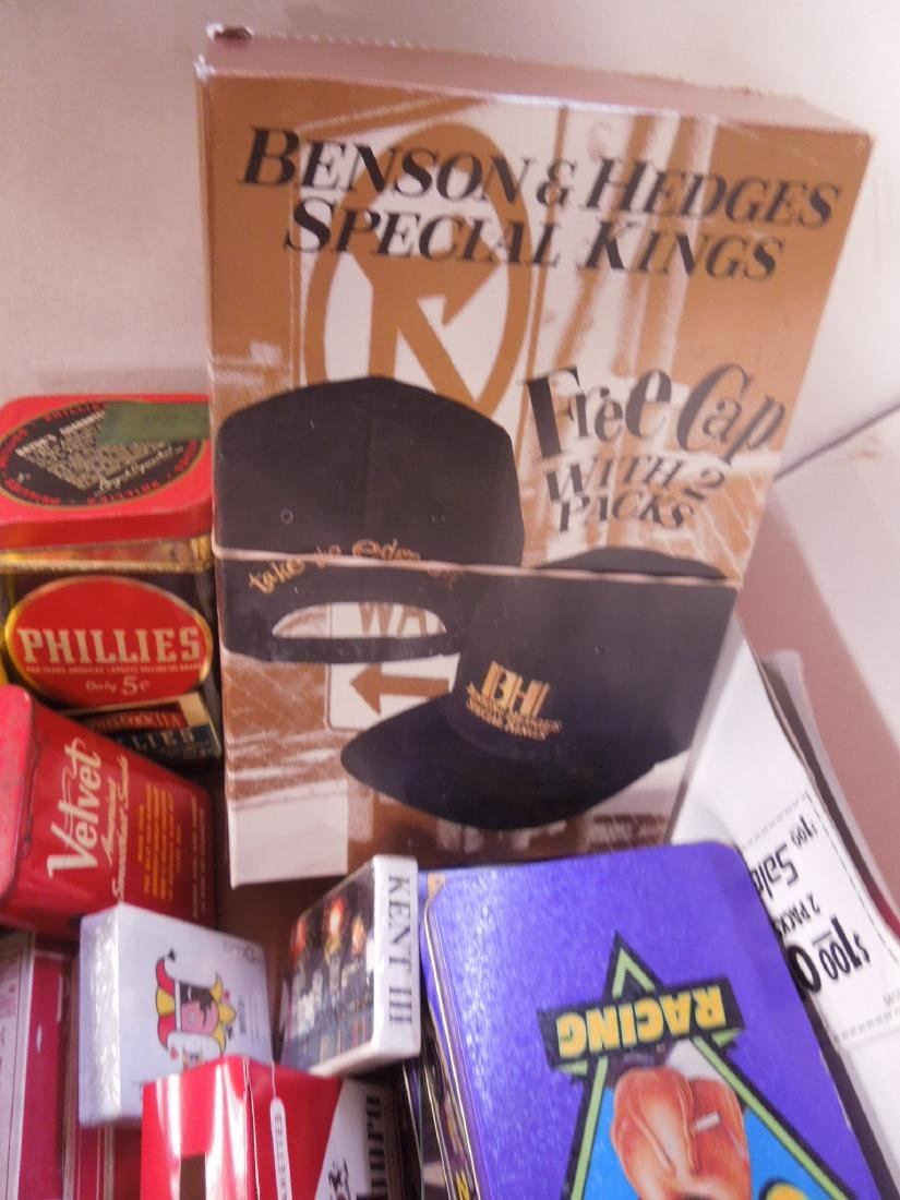 Large Lot of Tobacco Advertising Collectibles - 4