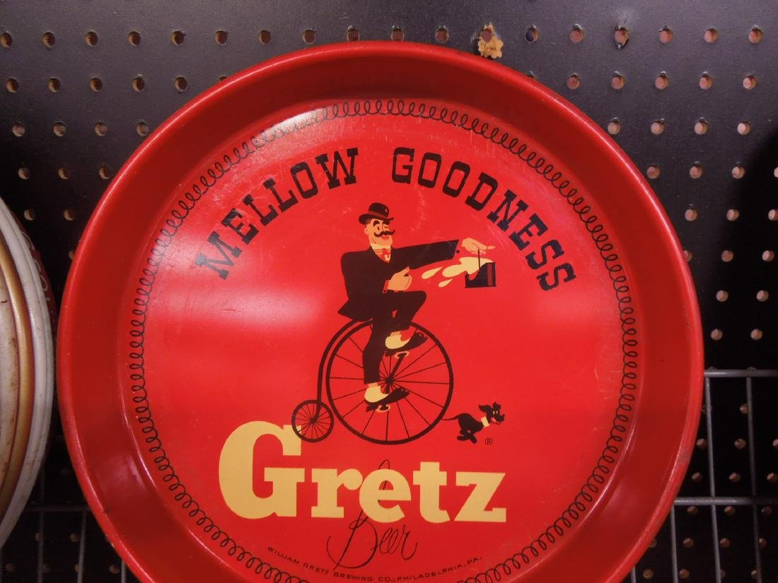10 Vintage Beer Trays & Other - 11