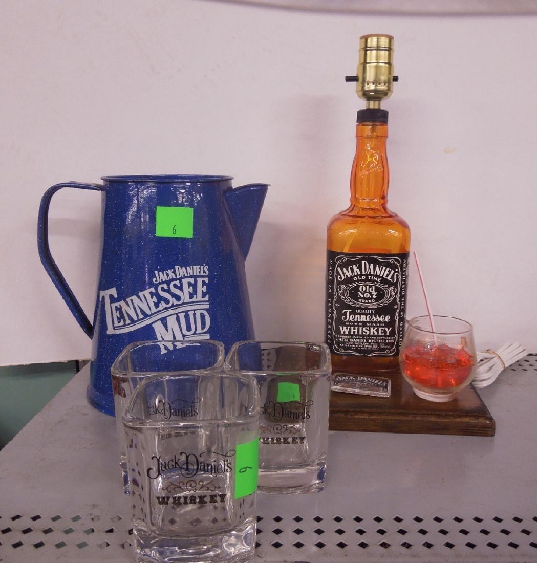 Lot Jack Daniels Advertising Items