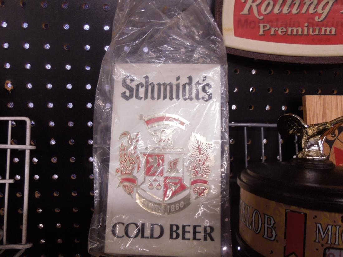 Vintage Beer Advertisement Signs & Clock - 3