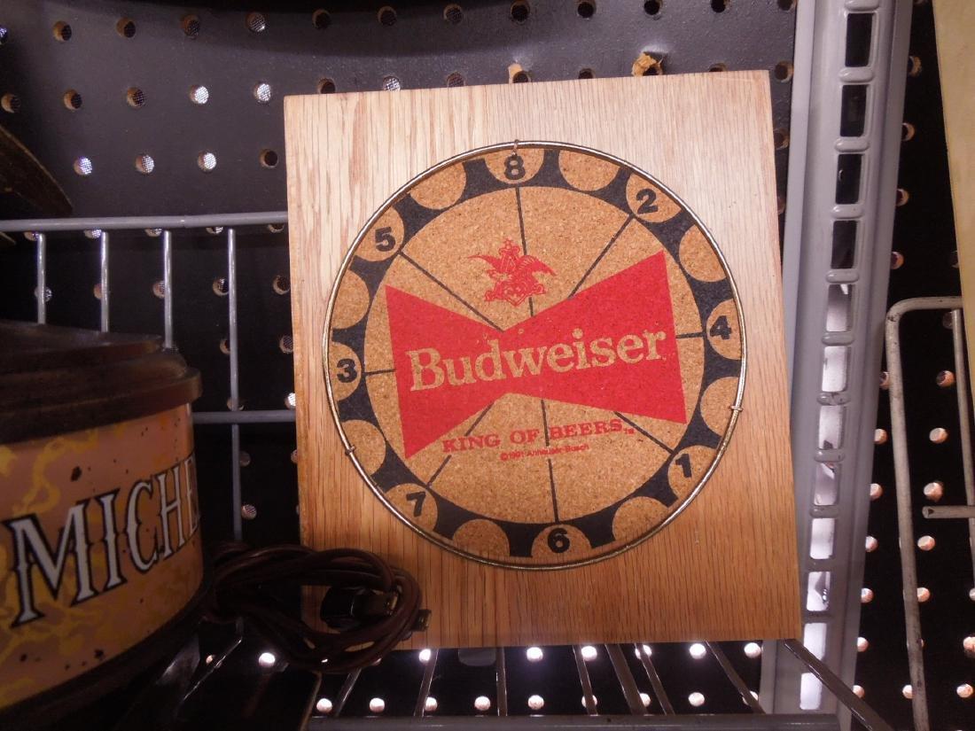 Vintage Beer Advertisement Signs & Clock - 5